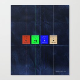 The Elements of Color Canvas Print