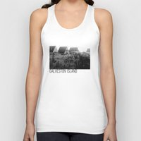 frames Tank Tops featuring A-Frames (Grayscale) by LUCJPG