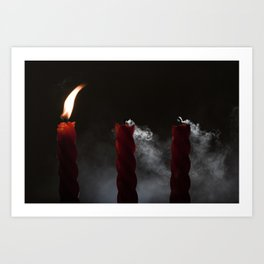 Put The Fire Out Art Print