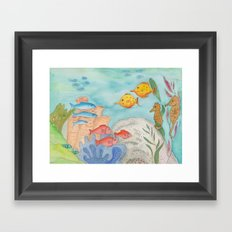 The Southern Sea Framed Art Print