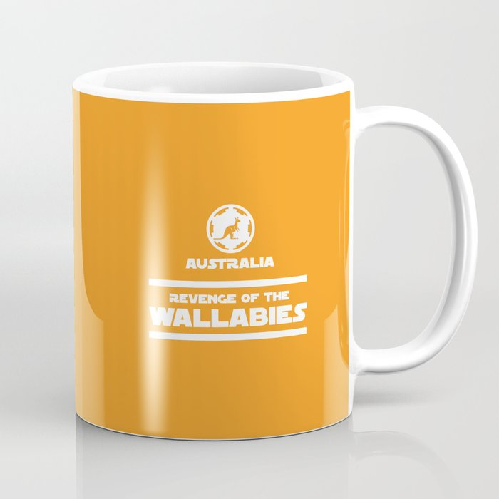 Australia Rugby Revenge Of The Wallabies Coffee Mug