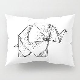 Origami Elephant Pillow Sham
