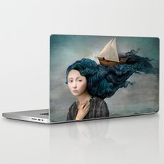 Message from the Sea Laptop & iPad Skin