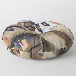 Tangled Tower Floor Pillow