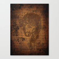 jesus Canvas Prints featuring  Jesus  by OnlineGifts