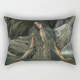 The Queen of Snakes Rectangular Pillow