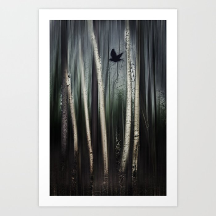 wild moment Art Print