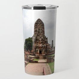 Wat Chaiwatthanaram Travel Mug
