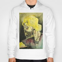 zombies Hoodies featuring zombies by Marcelo O. Maffei
