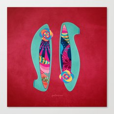 Shoes for Spring Canvas Print
