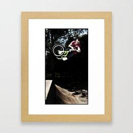BMX AIR Framed Art Print