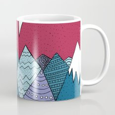 Blue Sky Mountains Mug