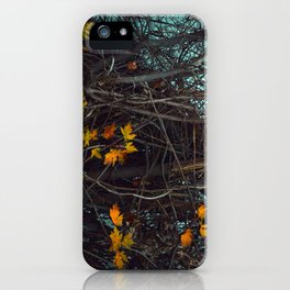 Vines Along the River iPhone Case