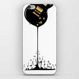 Flowing Music iPhone Skin