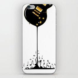 Flowing Music iPhone Skin