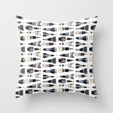 Wide Open Space Rockets Throw Pillow