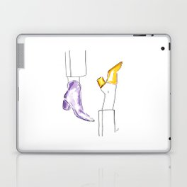 Watercolor Shoes Laptop & iPad Skin