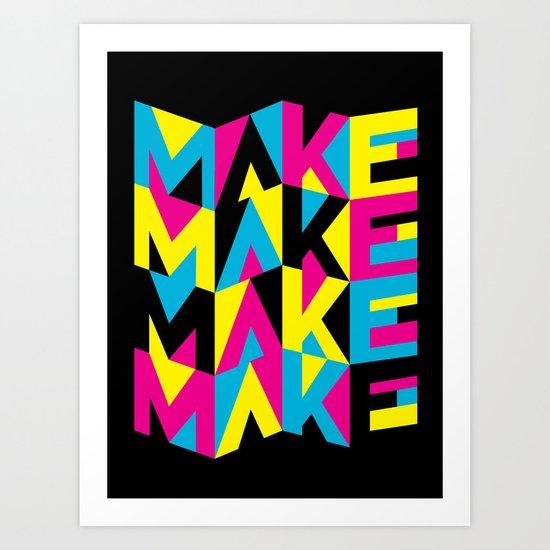 MYCK Art Print