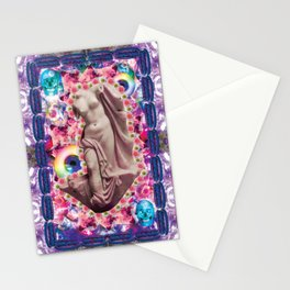 venus of hot dog death Stationery Cards