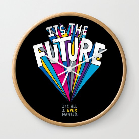 The Future Wall Clock