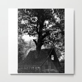 asc 926 - La maison au fond des bois (The house in the woods) Metal Print