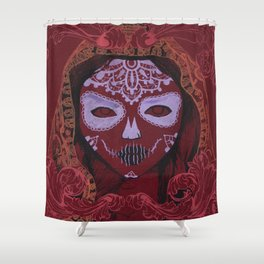 young death Shower Curtain