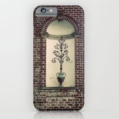 Brick and Flowers in a Vase Color Photo Slim Case iPhone 6s