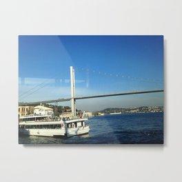 BOSPHORUS BRIDGE Metal Print