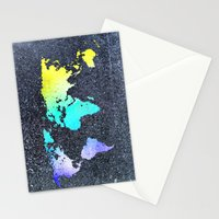 The World Belongs to you Stationery Cards