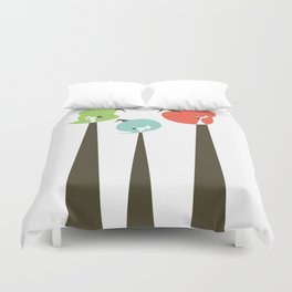 Three Witches Observe Duvet Cover