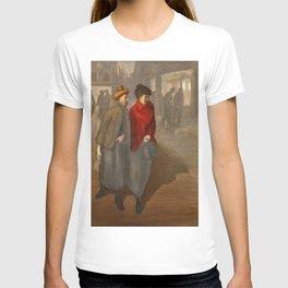 """Théophile Steinlen """"Trottins; Le retour de l'atelier"""" T-shirt"""