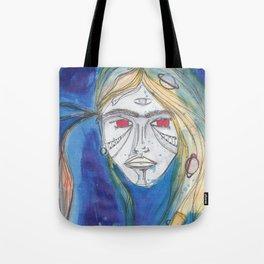AQUA B GIRL Tote Bag