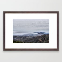 Clouds Above Clouds Framed Art Print