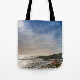 Sunstar at Ano Nuevo State Reserve California Tote Bag