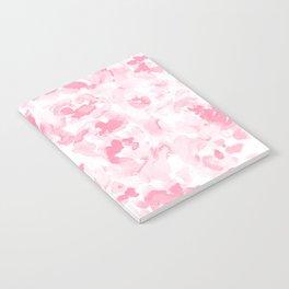 Abstract Flora Millennial Pink Notebook