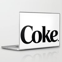 coke Laptop & iPad Skins featuring Do Coke by Startled Artist
