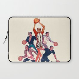 Crowning the Fashion King Laptop Sleeve