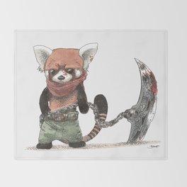Panda Roux Barbare Throw Blanket