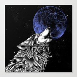 Moonwolf Canvas Print