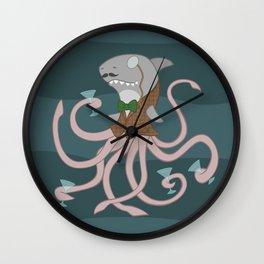 Sharktopus Wall Clock
