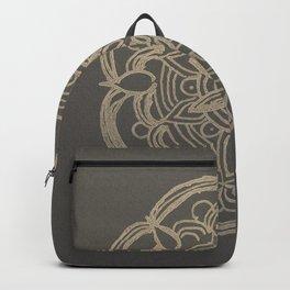 Gold Romantic Mandala #1 #drawing #decor #art #society6 Backpack