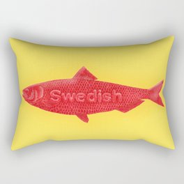 Swedish Fish Rectangular Pillow