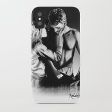 Sarah and Kyle iPhone X Slim Case