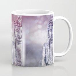 Buddha Path to Happiness Inspirational Typography Coffee Mug