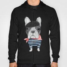 French Bulldog. (panoramic view version) Hoody