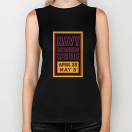 Navy Recruiting Week -- WW1 Era Biker Tank