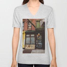 East Village Unisex V-Neck