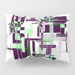 Mint Green City Pillow Sham
