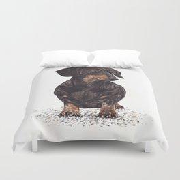 Dog-Dachshund Duvet Cover