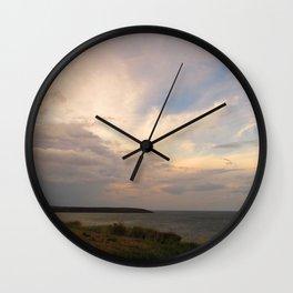 The Last Sunset Wall Clock
